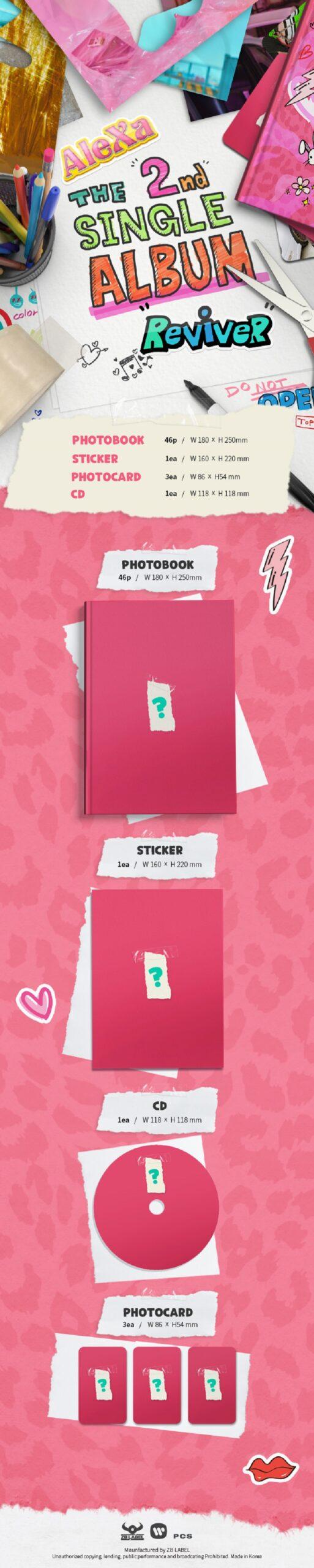 AleXa 2nd Single Album ReviveR