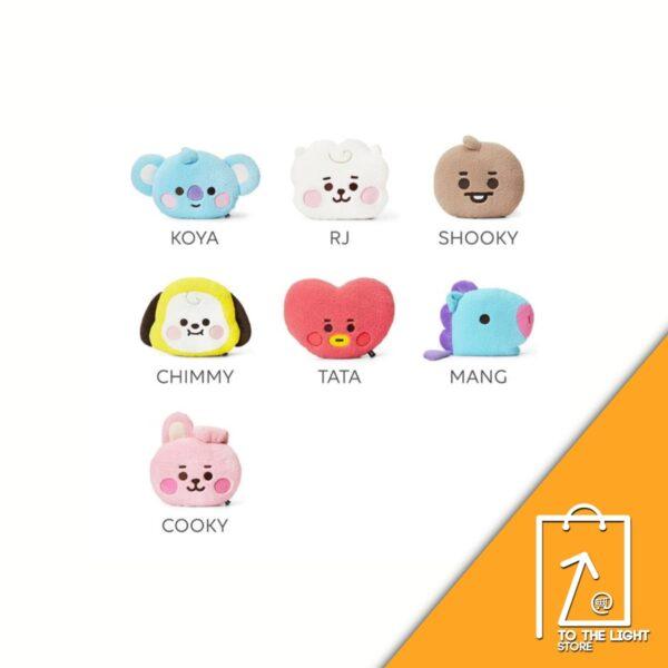 BT21 BTS Line Friends Collaboration Cojin facial Baby Boucle