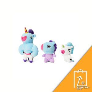 BT21 BTS Line Friends Collaboration MANG Universe Standing Doll Set 3EA