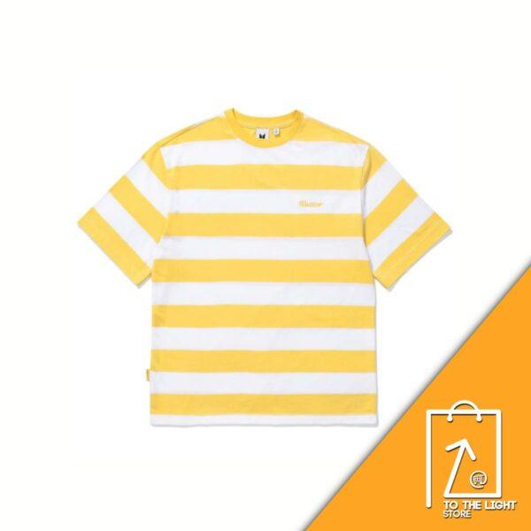 BTS Butter Goods Striped SS T Shirt multi