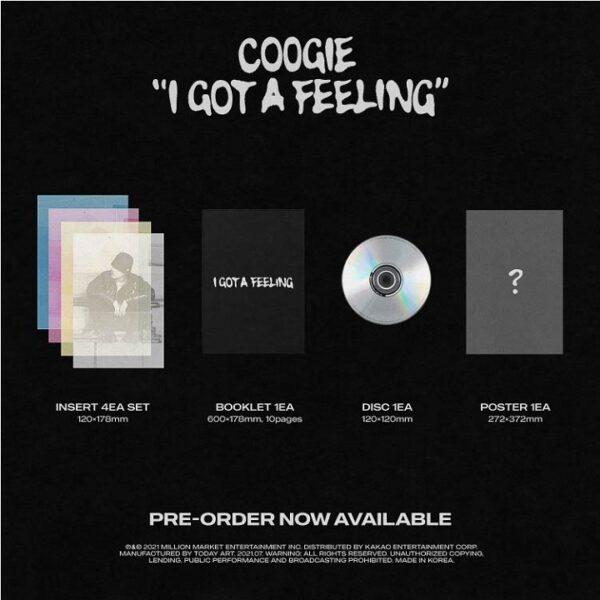 EP Album de COOGIE I GOT A FEELING CD