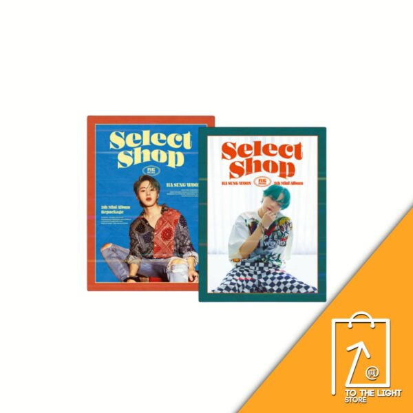 Ha Sung Woon 5th Mini Album Repackage Select Shop SET ver.