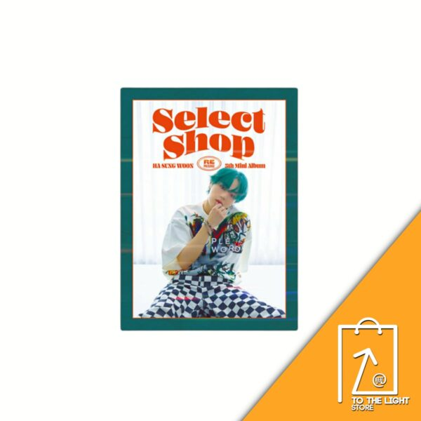 Ha Sung Woon 5th Mini Album Repackage Select Shop Sweet ver.