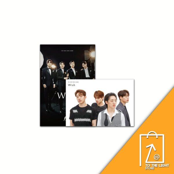 Letteamor 1st Mini Album Wish CASUAL VER. o CLASSIC Ver. Disponibles CD