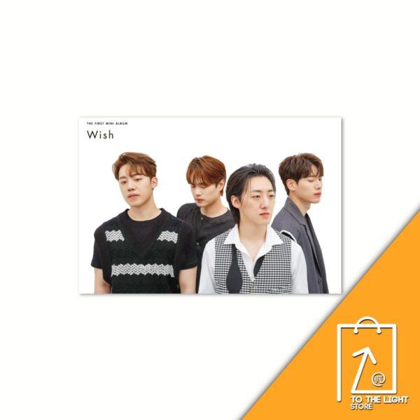 Letteamor 1st Mini Album Wish CASUAL VER.CD