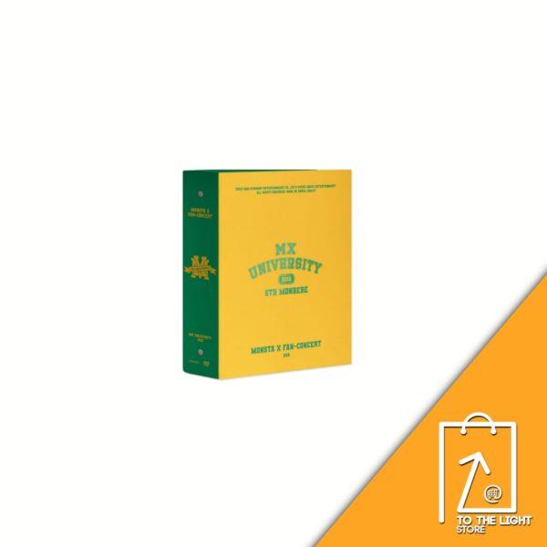 MONSTA X 2021 Fan Concert MX UNIVERSITY DVD 4 DISC
