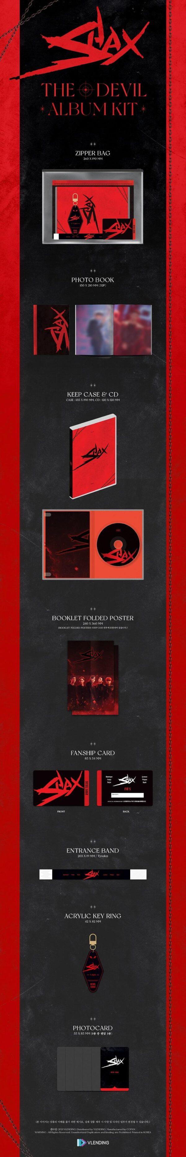 SHAX ALBUM THE DEVIL Drama Imitation OST 1