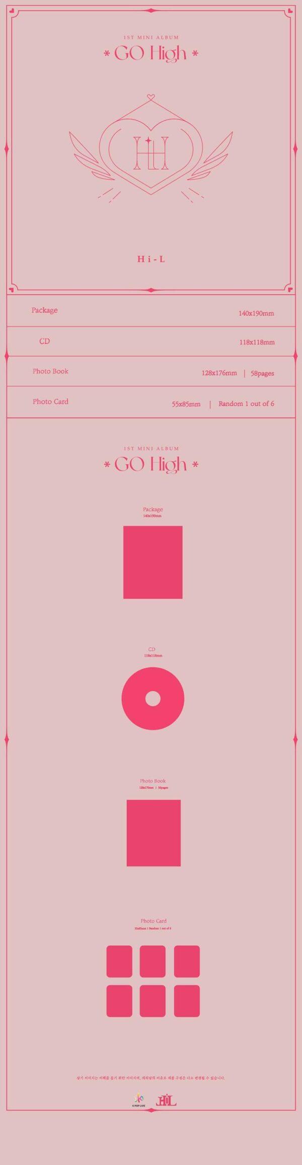 1st Mini Album de Hi L Go High 1