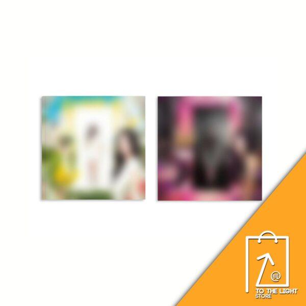 1st Mini Album de KWON EUNBI Ex de IZONE OPEN OUT Ver. o IN Ver. Disponibles