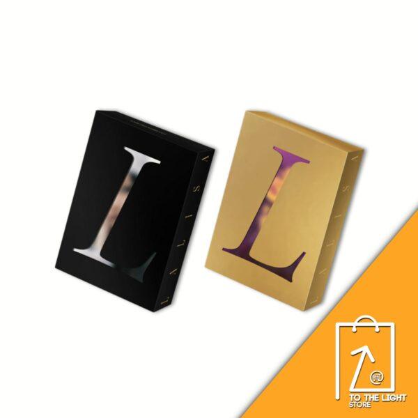 1st Single Album de LISA BLACKPINK LALISA BLACK Ver. o GOLD Ver.
