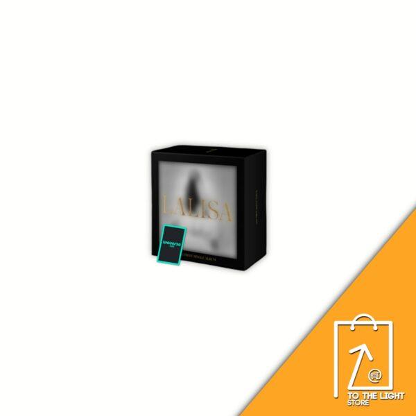 1st Single Album de LISA BLACKPINK LALISA BLACK Ver. o GOLD Ver. Weverse Gift 2