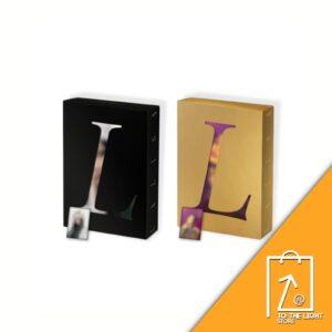 1st Single Album de LISA BLACKPINK LALISA BLACK Ver. o GOLD Ver. YG Benefit