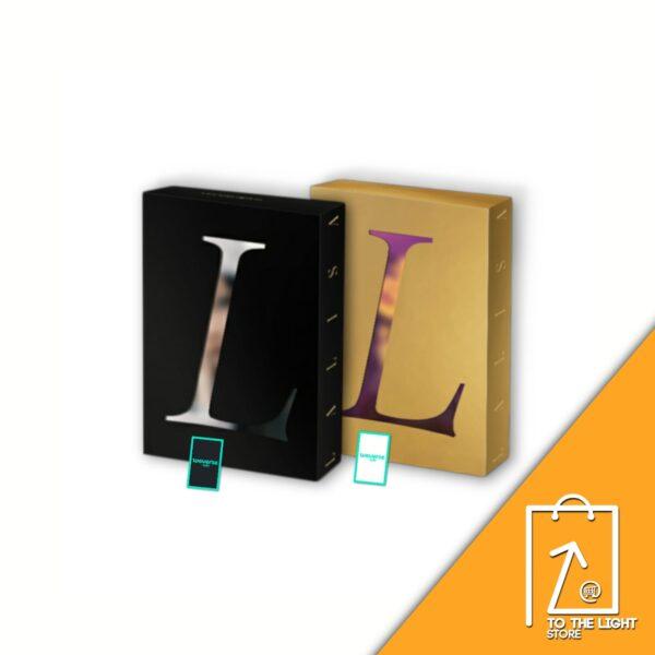 1st Single Album de LISA BLACKPINK LALISA SET Ver. Weverse Gift