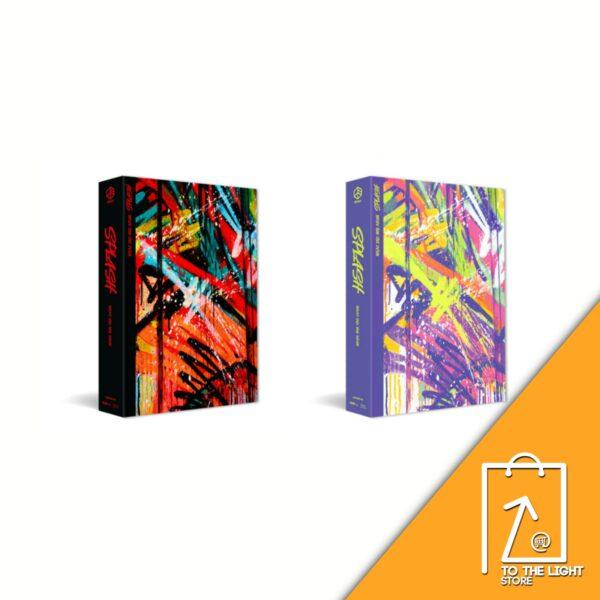2nd Mini Album de MIRAE Splash Hot Ver. o Cool Ver Disponibles