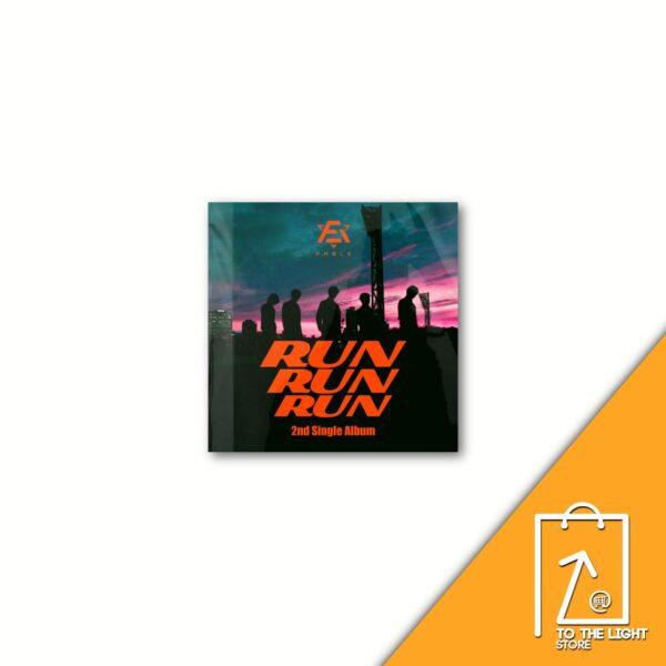 2nd Single Album de F.Able RUN RUN RUN