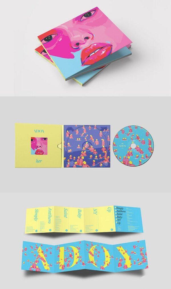 3RD Mini Album de ADOY HER