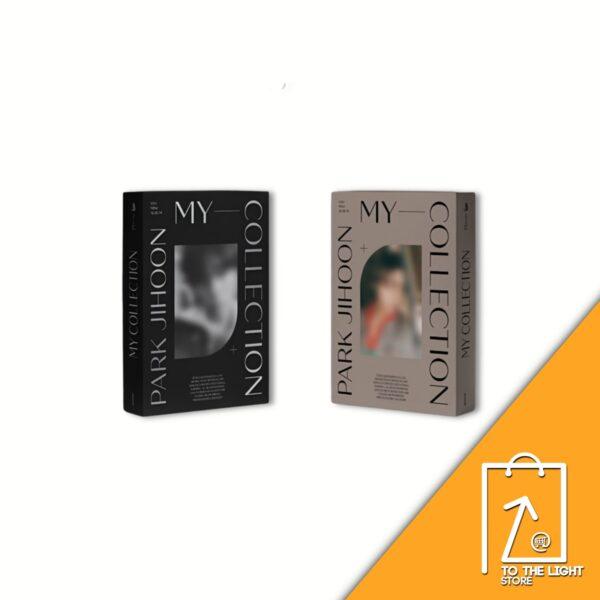 4th Mini Album de PARK JIHOON My Collection realism ver. o cubism ver. y poster disponibles