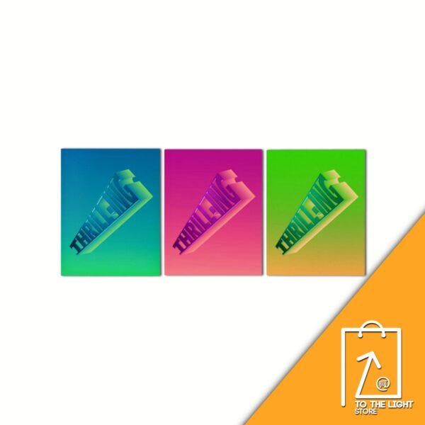 6th Mini Album de THE BOYZ THRILL ING KICK Ver BANG Ver o SPLASH Ver.