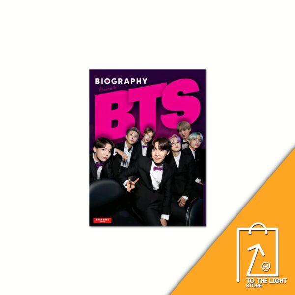 BTS BIOGRAPHY. October 2021 Cover BTS