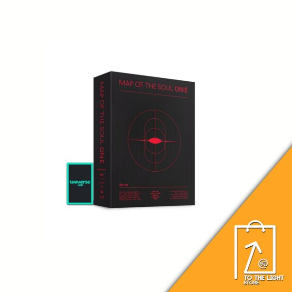 BTS MAP OF THE SOUL ONE Blu ray 3 DISC Weverse Gift