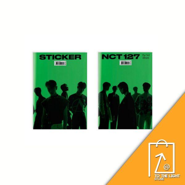 NCT127 Album Vol. 3 Sticker Sticky Ver. Random Ver.