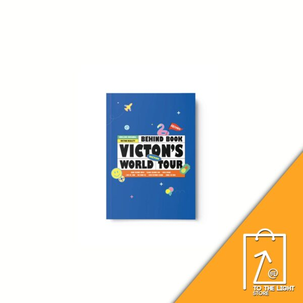 VICTON IDOLLIVE TOUR OFFICIAL MD BEHIND PHOTO BOOK