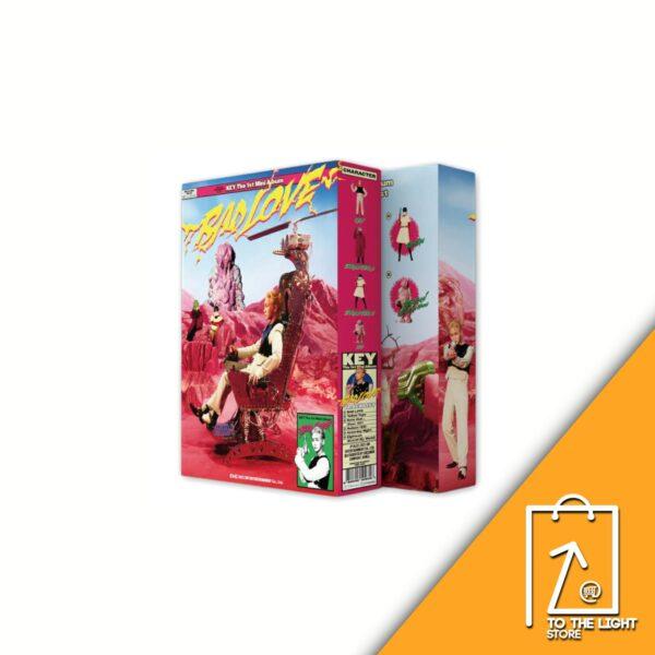 1st Mini Album de KEY SHINee BAD LOVE BOX SET Ver.