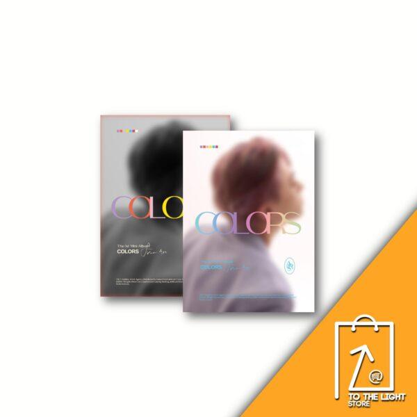 1st Mini Album de Youngjae GOT7 COLORS From Ars