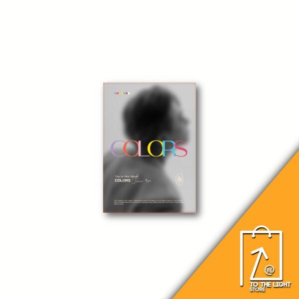 1st Mini Album de Youngjae GOT7 COLORS From Ars A Ver.