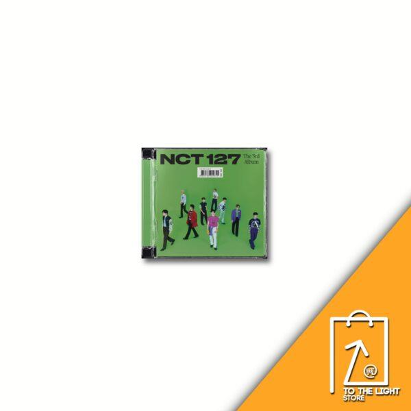 3rd Album de NCT127 Sticker Jewel Case Ver.