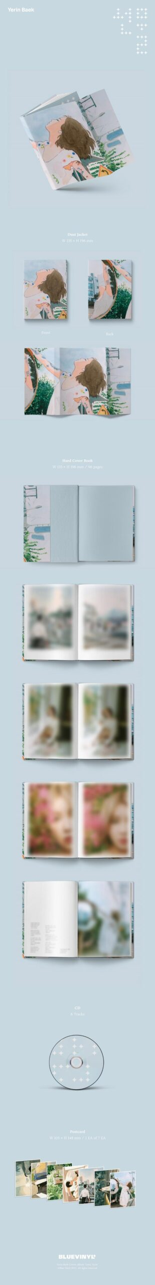 Album de Baek Yerin Present 1.1