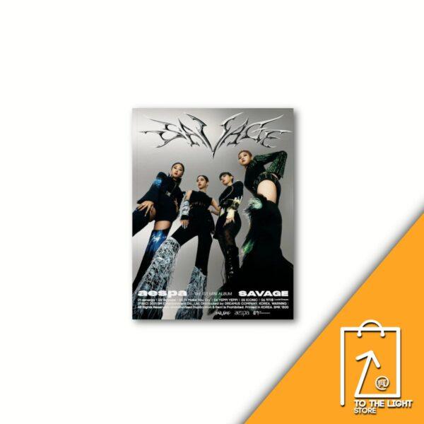 Mini Album de aespa Vol. 1 Salvaje Hallucination Quest Ver.