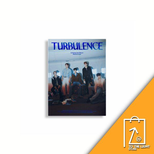1st Album de N.Flying Repackage TURBULENCE