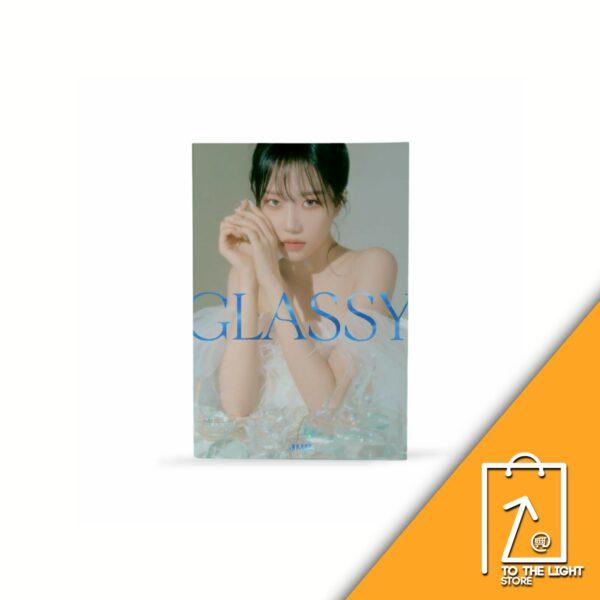 1st JO YURI IZZONE Single Album GLASSY