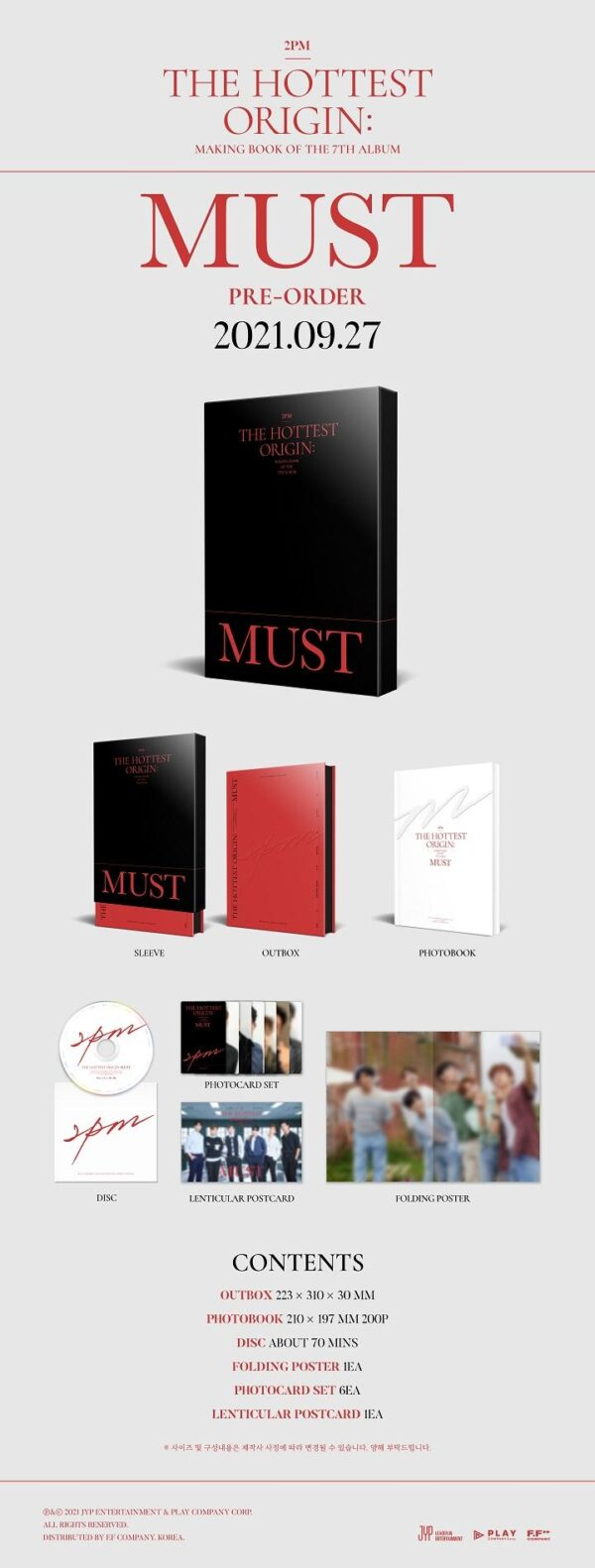 2PM 2PM THE HOTTEST ORIGIN MUST MAKING BOOK 1