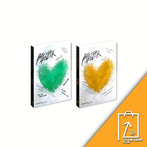 2nd Album de EPEX Bipolar Pt.2 Prelude of Love LOVER Ver. y COMPANION Ver.
