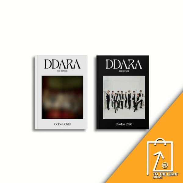 2nd Album de Golden Child Repackage DDARA A Ver. o B Ver.