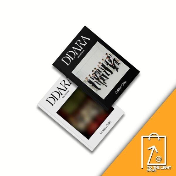 2nd Album de Golden Child Repackage DDARA SET Ver.