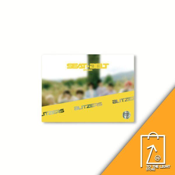 2nd EP Album de BLITZERS SEAT BELT MISS Ver. 1