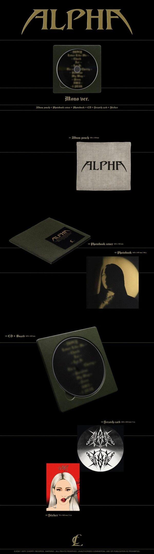 Album de CL ALPHA Mono Ver. 1