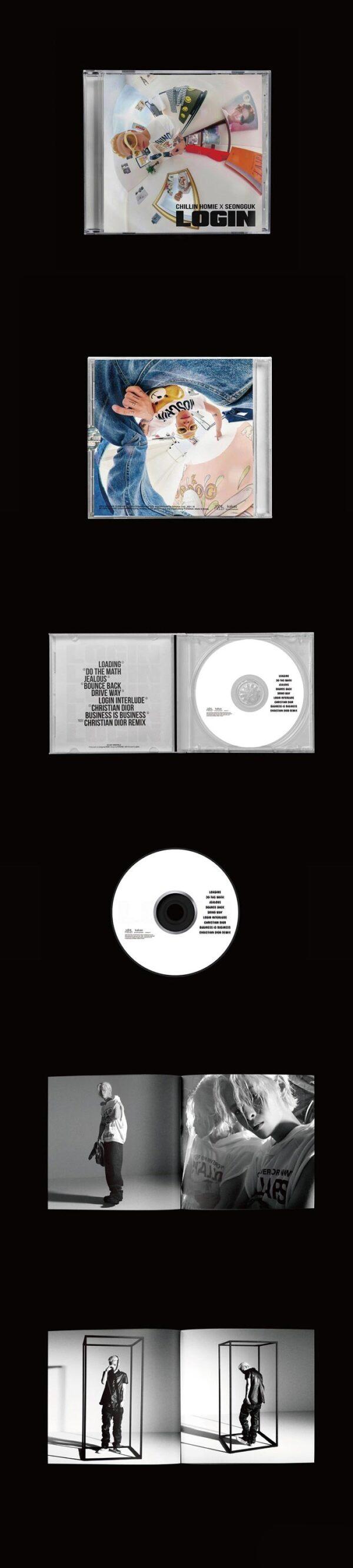Album de Chillin Homie Seongguk LOGIN
