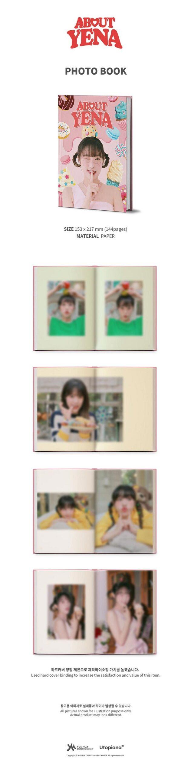 CHOI YENA IZONE ABOUT YENA B DAY PHOTO BOOK