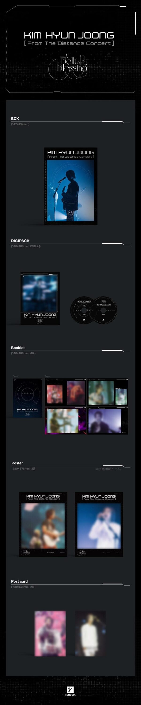 Kim Hyun Joong From The Distance Concert DVD 1